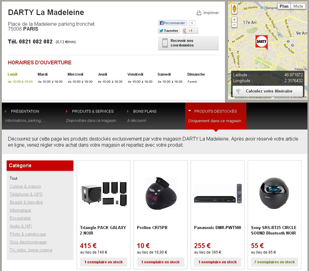 Darty - web-to-store