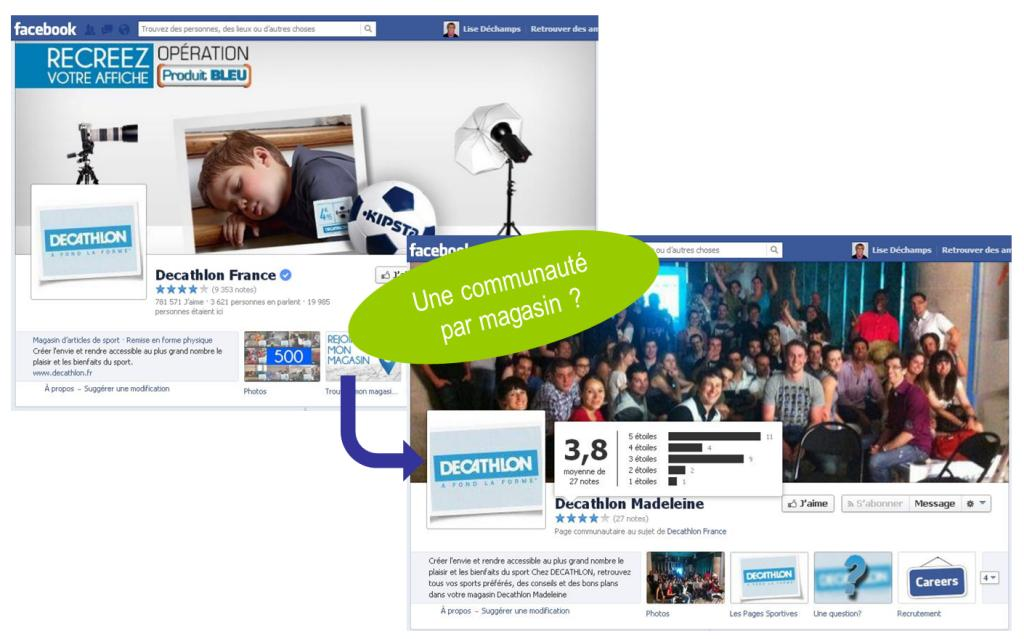 Facebook - Web-to-store