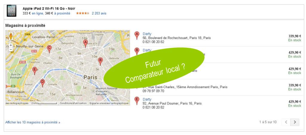 Google Shopping - Web-to-store