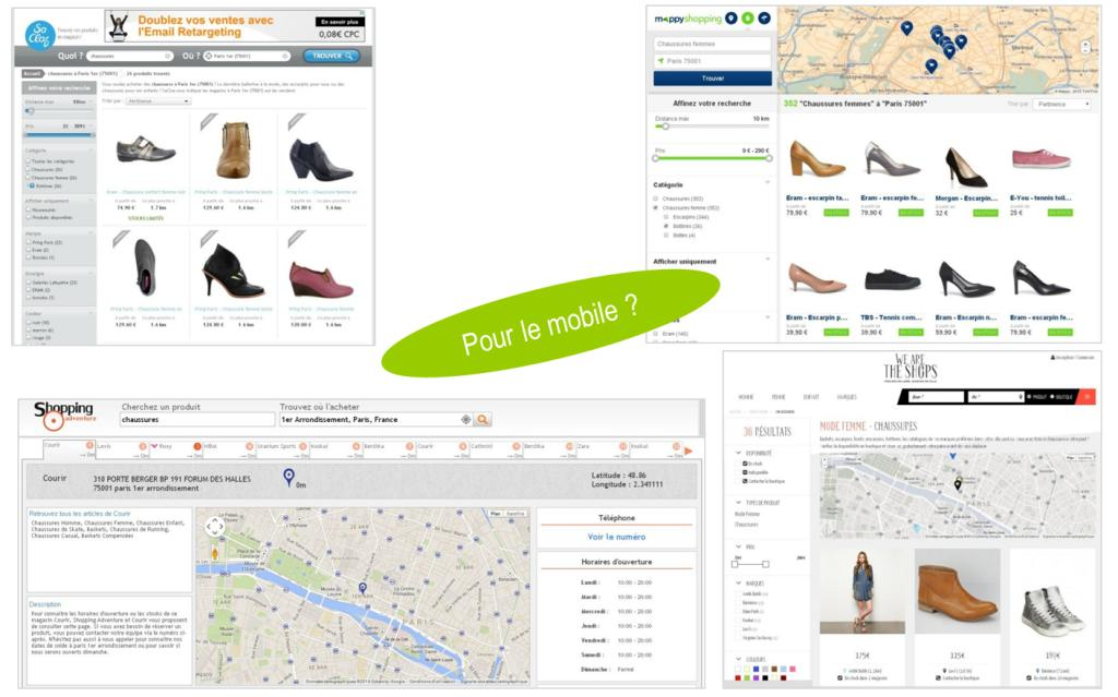 Pré-shopping - web-to-store