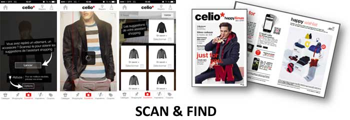 application Celio - Mobinaute