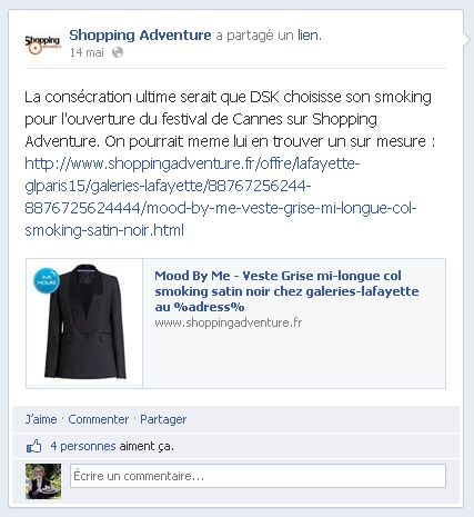 Shopping Adventure - Facebook