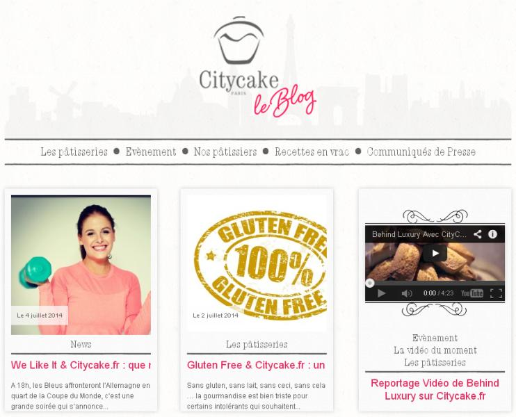Blog marketplace Citycake