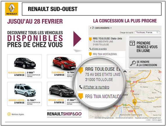 Renault -  Real Time Creative