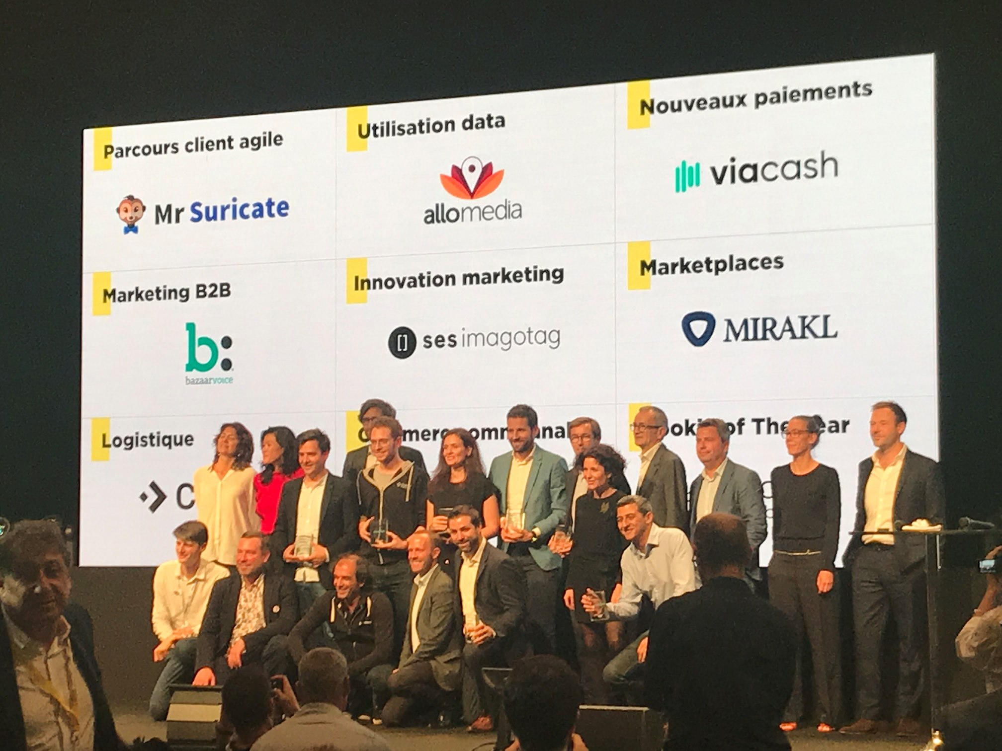 Les lauréats, startups ou non, des Paris Retail Awards 2019